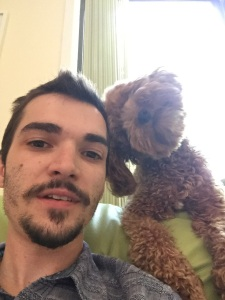 Little bro & puppy