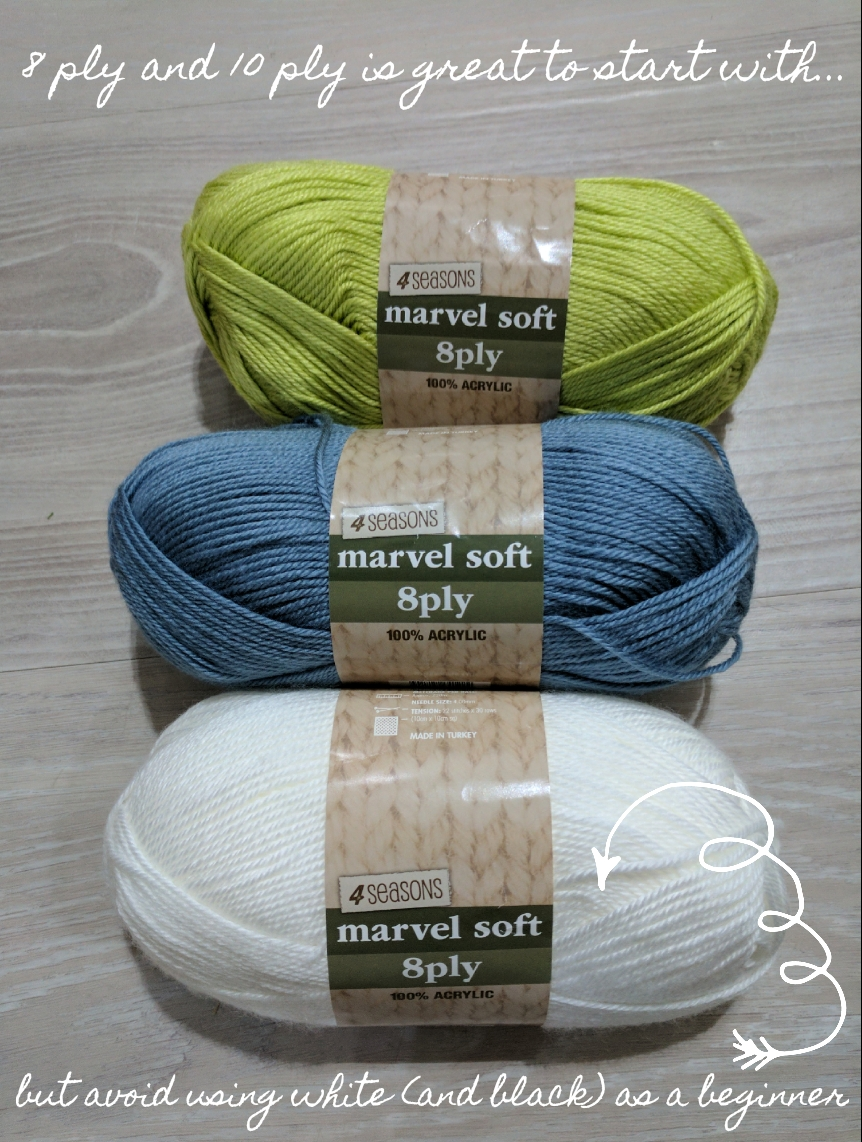 8-ply and 10-ply yarn