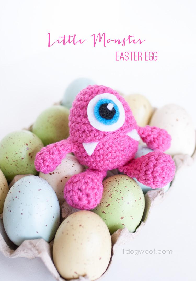 3 Dog Woof - Little Monster Easter Egg