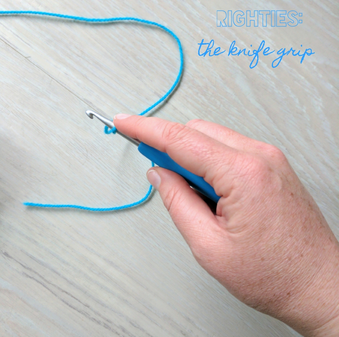Righties - The Knife Grip